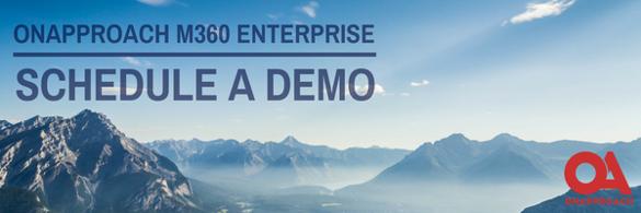 OnApproach M360 Enterprise, Schedule a Demo, Revolutionize your Credit Union Analytics