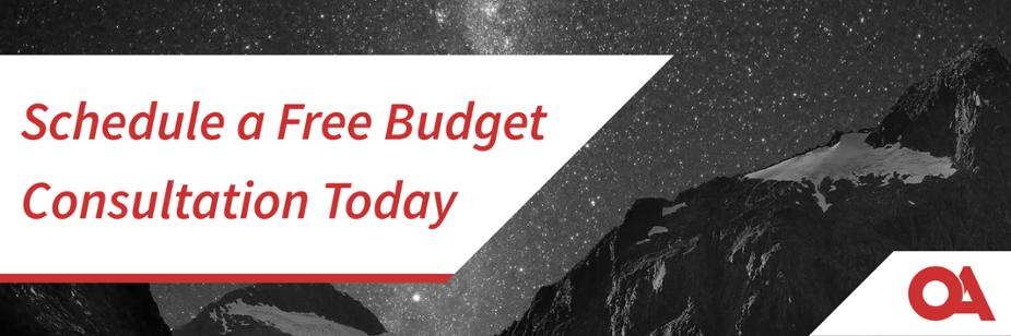 Request a Free Credit Union Budget Consultation Today