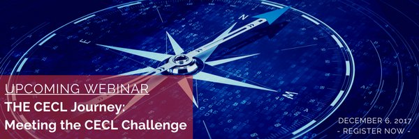 Upcoming Webinar: The CECL Journey - Meeting the CECL Challenge