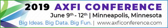 2019 AXFI Conference, June 9-12, Minneapolis MN