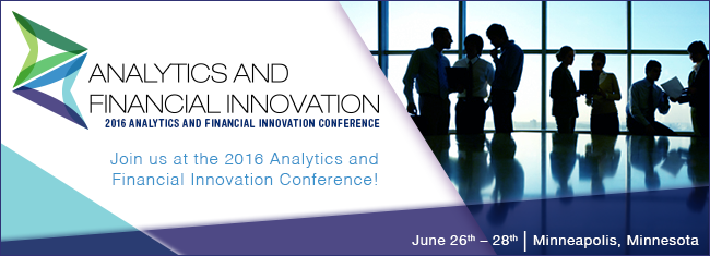 OnApproach Big Data Analytics Analytics and Financial Innovation Conference