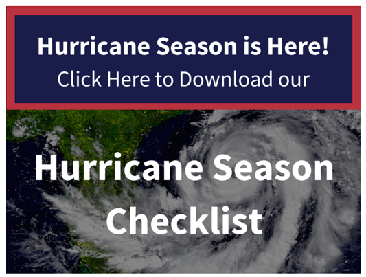 Florida Hurricane Season Checklist