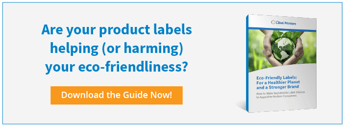 Can Custom Label Printing Be Environmentally Sustainable? Read the white paper!