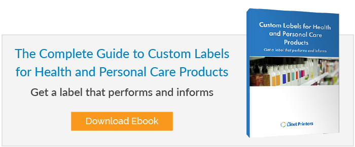 The Complete Guide to Custom Labels for Health and Personal Care Products