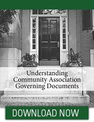 Community Association Insurance Governing Documents