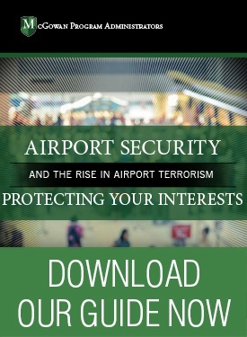 Airport security and threats