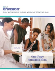 Template to write a one page strategic plan