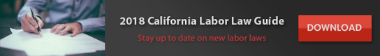 2018 california labor law guide