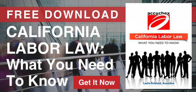 California laws hr dating
