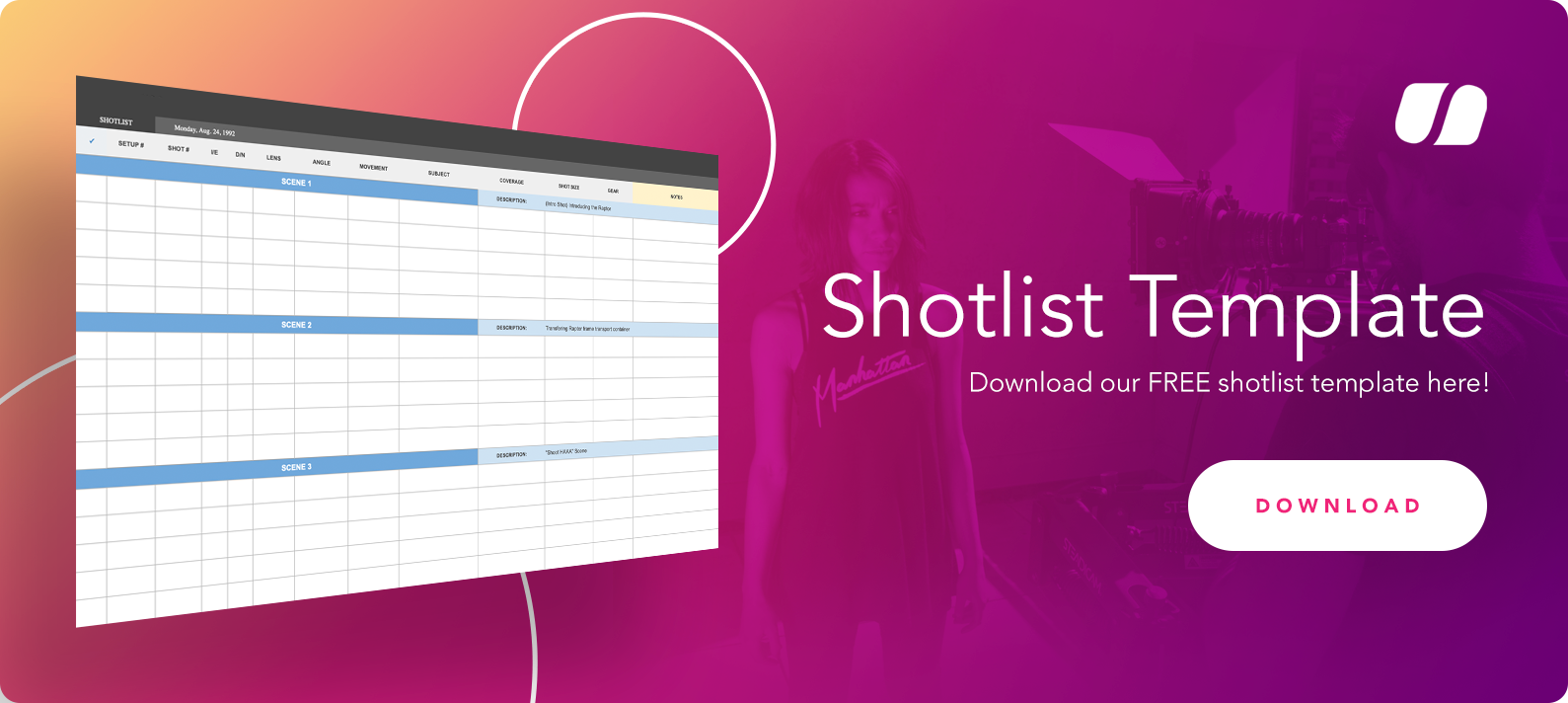 Shotlist Template CTA