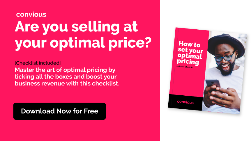 Download the Optimal Pricing Checklist
