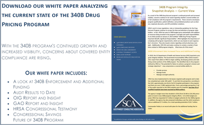 340B Drug Pricing Program White Paper