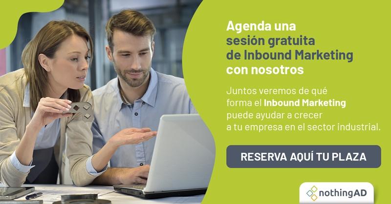 Asesoría gratuita Inbound Sector Industrial