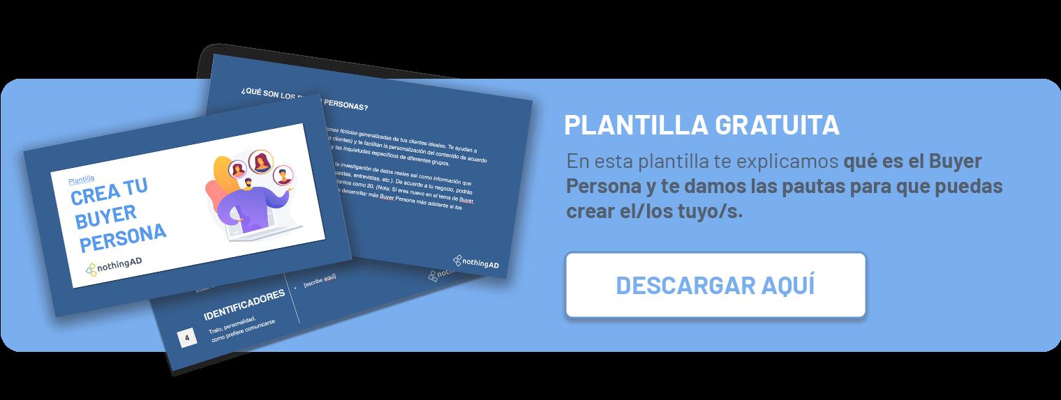 Plantilla Buyer Persona