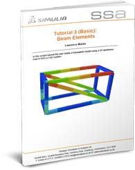 Abaqus Tutorial 3 Basic Beam Elements
