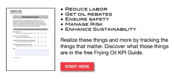 FRYING OIL KPIS
