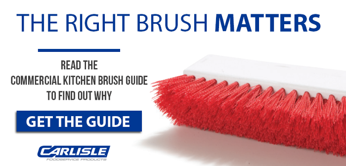 Carlisle Commercial Kitchen Brush Guide