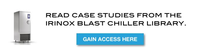 Irinox Blast Chiller Case Study Library