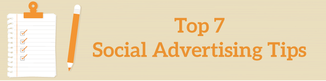 Top 7 Social Media Advertising Tips