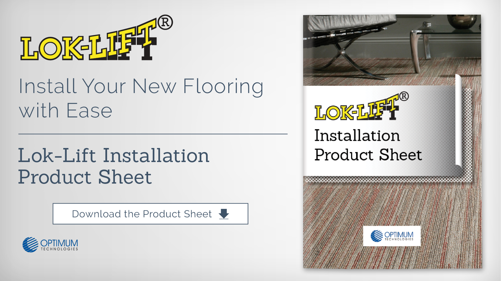 Lok-Lift Installation Product Sheet