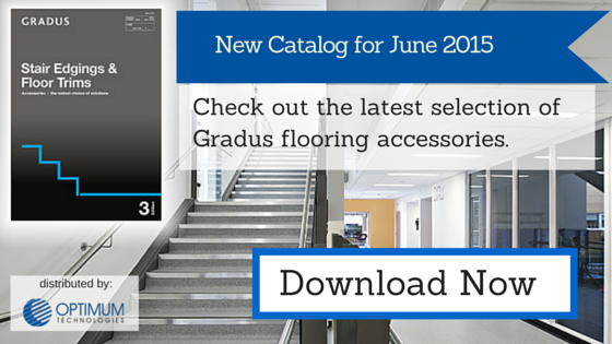 Gradus stair edgings & floor trims digital catalog - June 2015