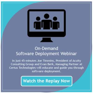 Software Deployment On-Demand Webinar