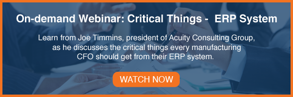 Critical Things ERP System Webinar