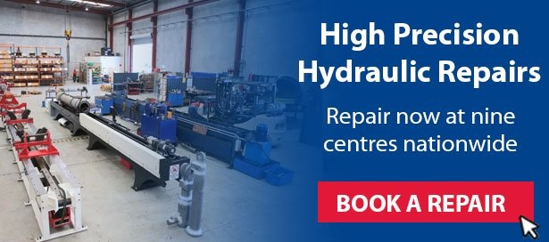 High precision hydraulic repairs - book a repair with Berendsen Fluid Power