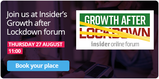 Just us at Insider's Growth after Lockdown forum