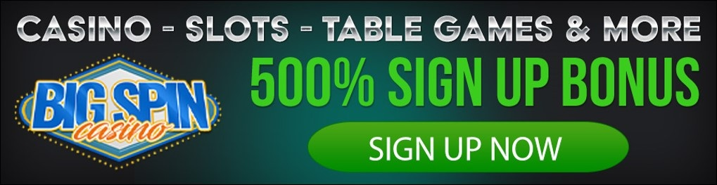 Big Spin Casino 500%
