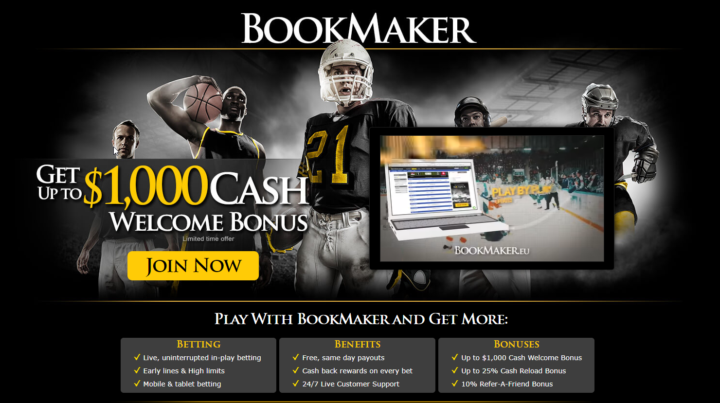 Bookmaker Sportsbook
