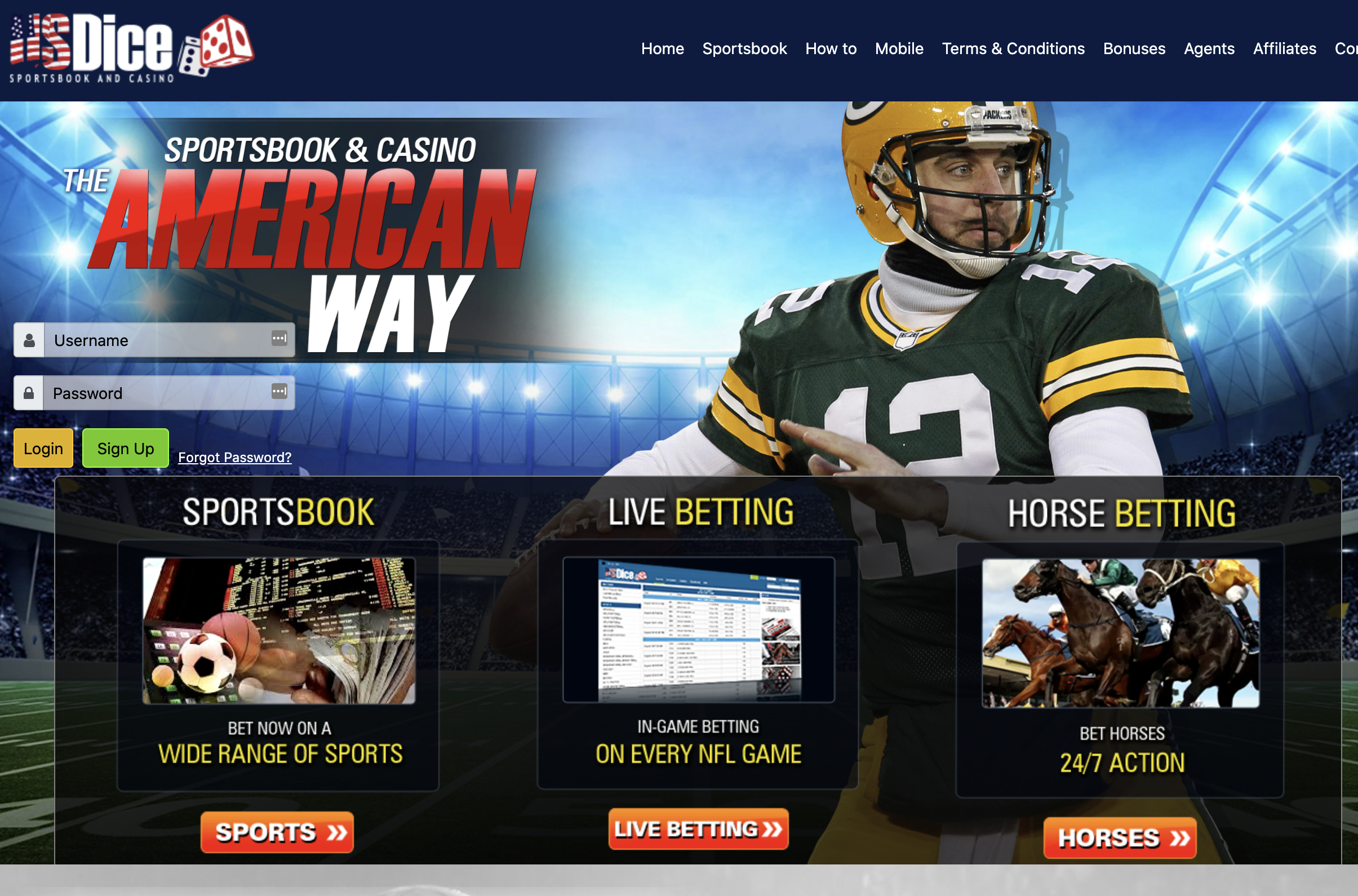 USDice Sports Betting