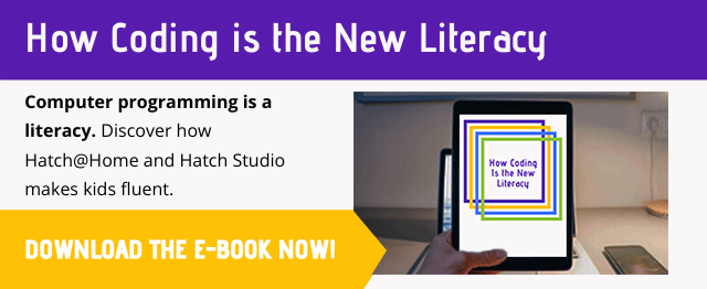 coding is the new literacy button