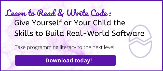 learn to read and write code e-book button
