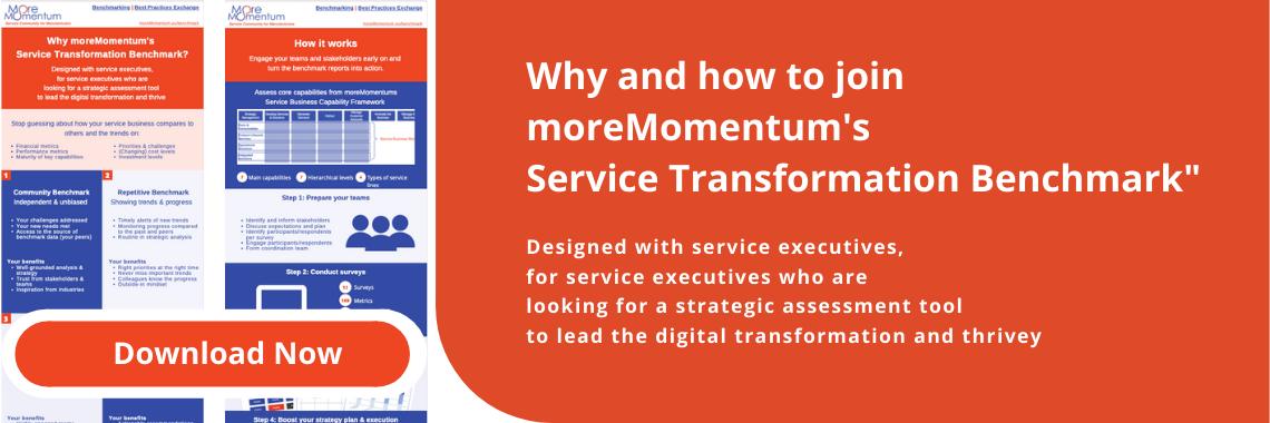 moreMomentum's Service Transformation Benchmark