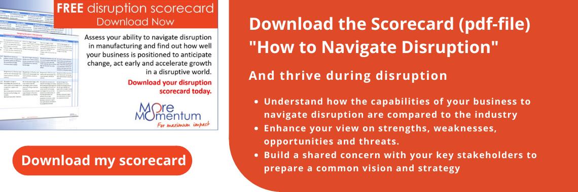 Scorecard How to navigate disruption