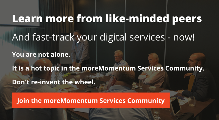 Join the moreMomentum Services Community and Fast-Track your Digital Services