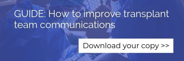 Guide: How to improve transplant team communications
