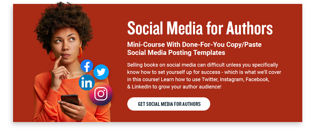 social media for authors course from self publishing school