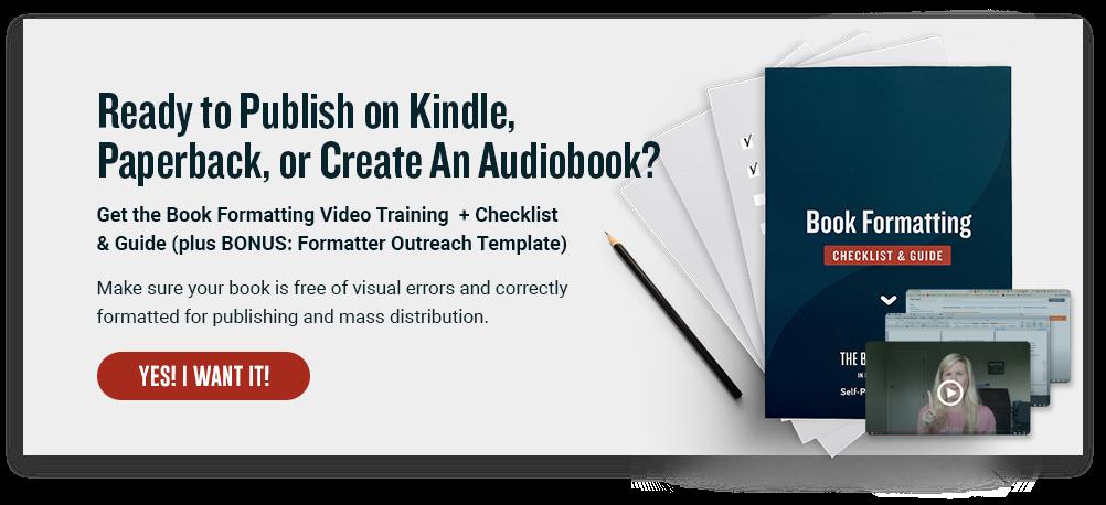 book formatting mini-course cta