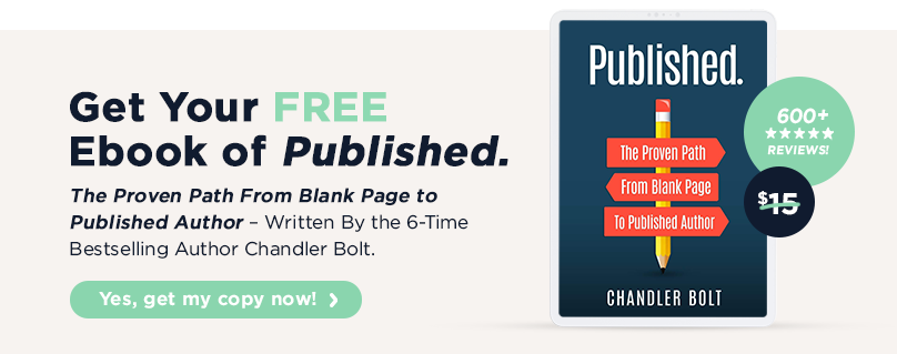 free copy of published for authors and writers