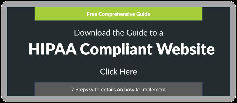 HIPAA Compliant Website