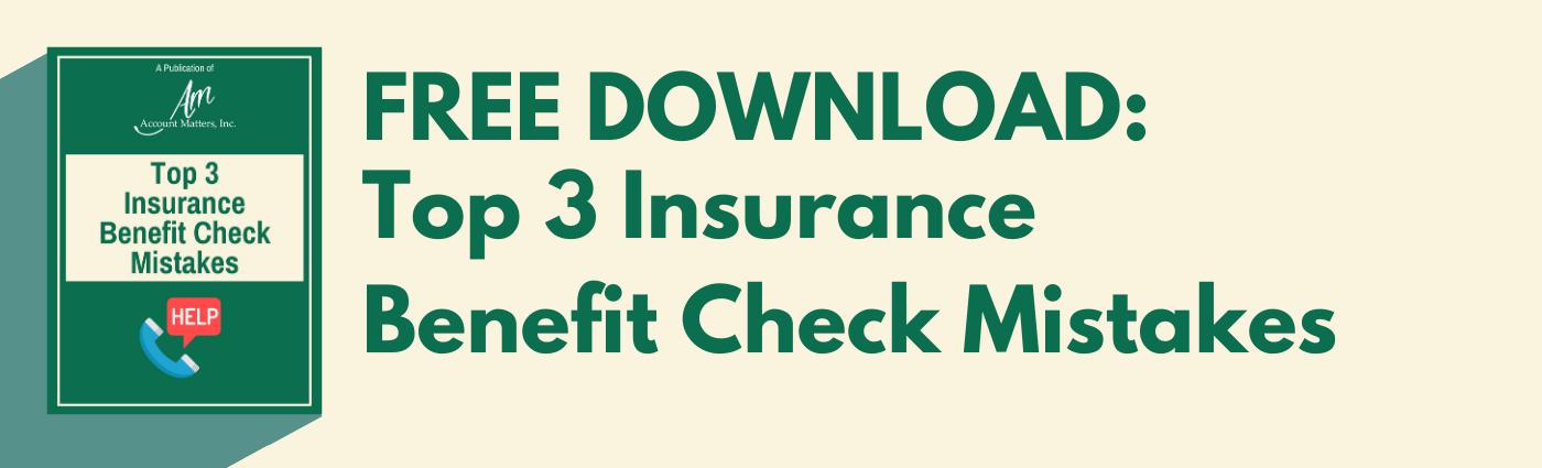 insurance benefit check mistake image cta
