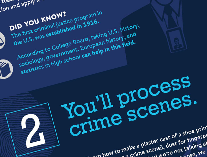 Criminal Justice Infographic