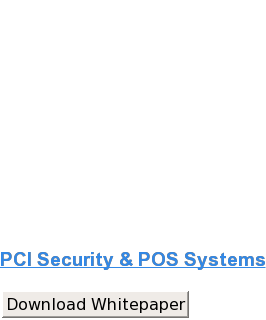 PCI Security & POS Systems Download Whitepaper