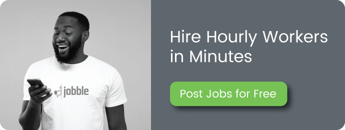 Hire Hourly Workers in Minutes: Jobble