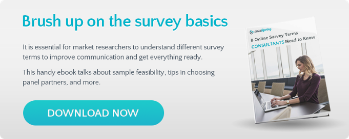 Brush up on the survey basics