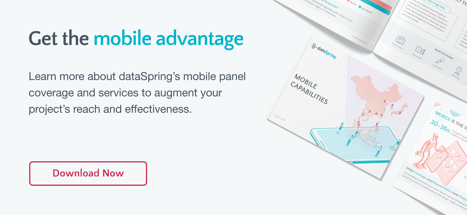 Learn more about dataSpring's mobile research capabilities