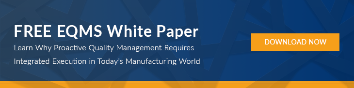 Enterprise Quality Management System White Paper | Manufacturing Execution System