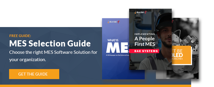 MES Software Solution Selection Guide